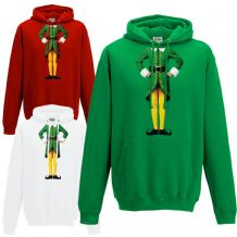 Elf Body Hoodie - Cute Christmas Humour Funny Buddy Xmas Festive Gift Hoody Top